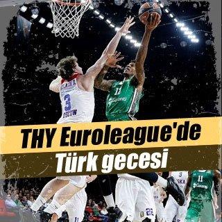 THY Euroleague'de Türk gecesi