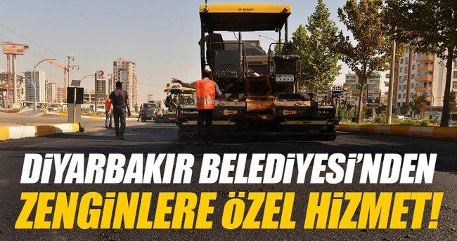 Diyarbakır'da belediyeden zenginlere ayrıcalıklı hizmet