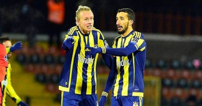 Fenerbahçe'de Topal ve Kjaer sevinci