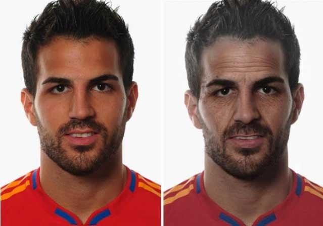 Futbolcular yaşlanırsa!