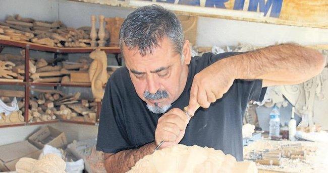 Ali usta sanatını dünyaya pazarlıyor