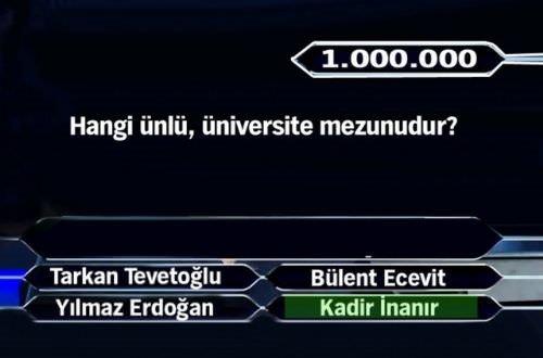 1 milyon liralık 11 final sorusu