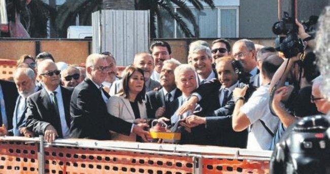 İTO'nun yeni binasının temeli törenle atıldı