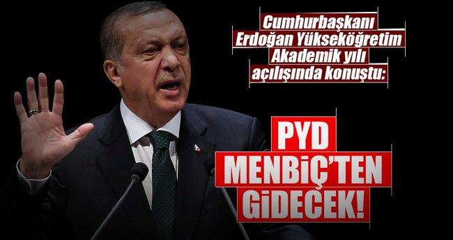 PYD Menbiç'ten gidecek