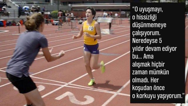 19 yaşındaki kahraman atlet Kayla Montgomery