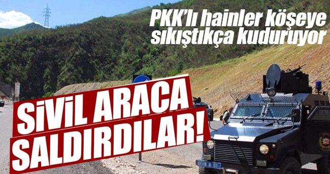 PKK'lı alçaklardan hain tuzak