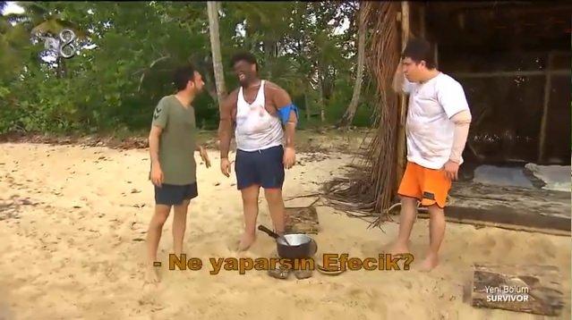 Survivor 3 Adam Skeçleri - Semih, Efecan ve Serkay birbirine girdi!
