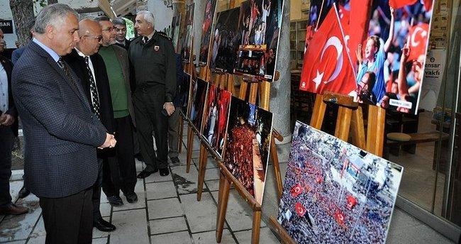 '15 Temmuz Milli Direniş Sergisi' açıldı