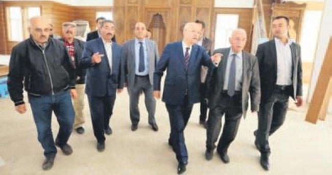 Ufuk Camisi'ne Başkan Fethi Yaşar desteği
