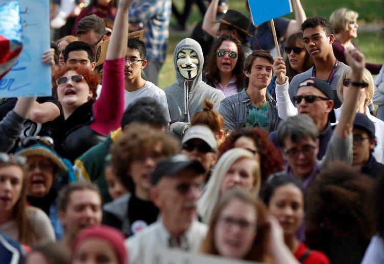 Trump karşıtı gösterilerin Gezi kalkışması ile benzerliği
