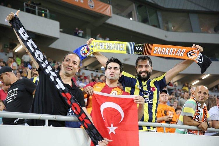 Fenerbahçe  Shakhtar Donetsk'e farklı yenildi
