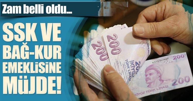 İşte emeklinin yeni maaşı! SGK ve Bağ-Kur'lular dikkat