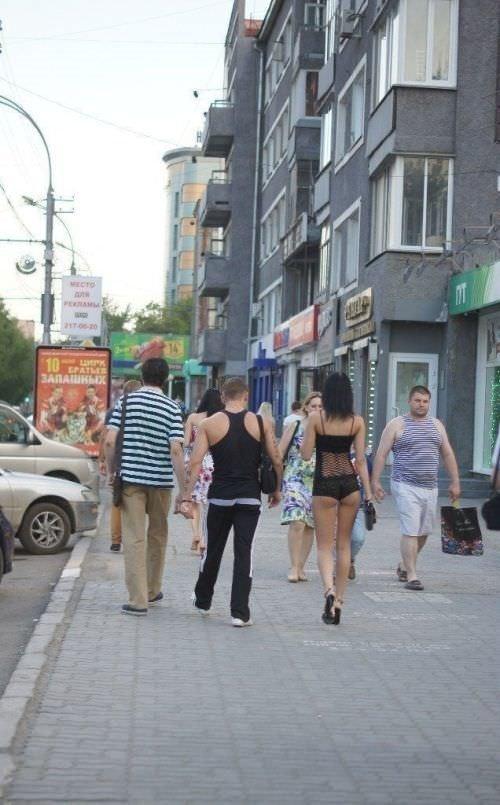 Dünyanın en acayip sokak elbiseleri