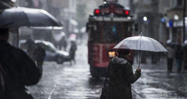 Marmara'da sağanak alarmı