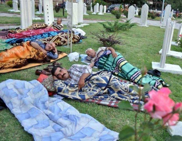 Kırkpınar sevgisi mezarlıkta yatırdı