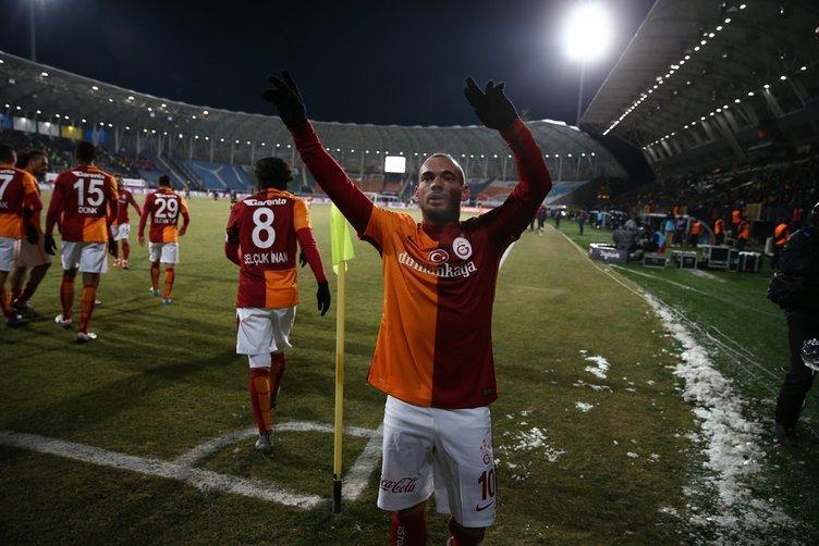 Wesley Sneijder'de flaş gelişme