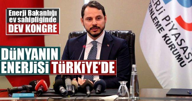 Dünyanın enerjisi Türkiye'de