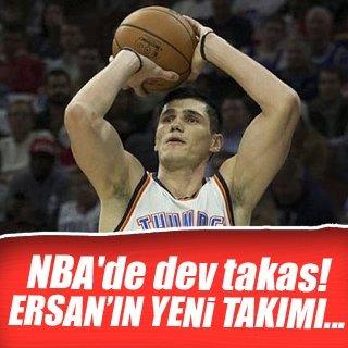 Ersan İlyasova, 76ers'a takas edildi