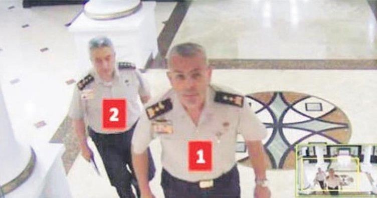 Cuntacı albay telefondan Erdoğan'ın otelini araştırmış