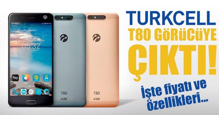 Turkcell T80 görücüye çıktı