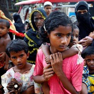 Bangladeş'e sığınan Müslümanların sayısı 436 bin kişiye ulaştı