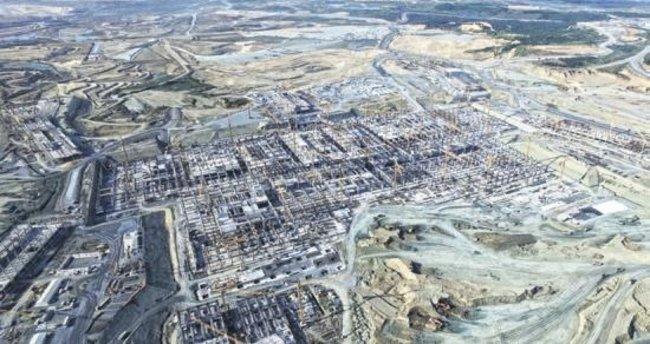 """""""3. havalimanında kaba inşaat 30 Ocak'ta biter"""""""