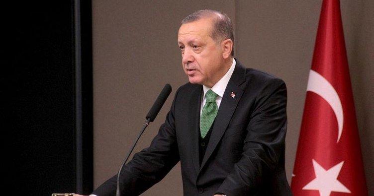 Cumhurbaşkanı Erdoğan'ın tek sözü yetti