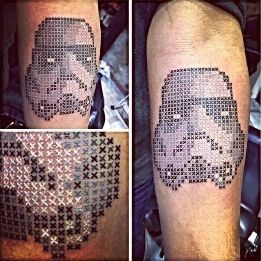 O Türk'ün dövmeleri ünlü oldu