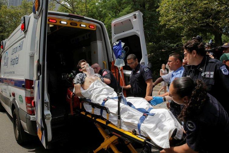 Central Park'ta patlama: 1 yaralı