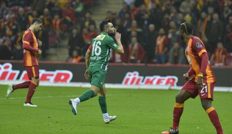 Galatasaray - Bursaspor maçının fotoğrafları