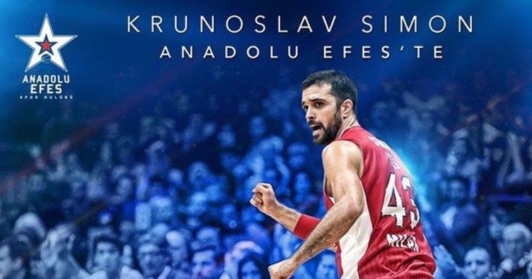 Anadolu Efes'ten üçüncü transfer