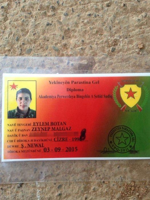 TSK tarafından vurulan PKK-PYD hedeflerinden ilk görüntüler