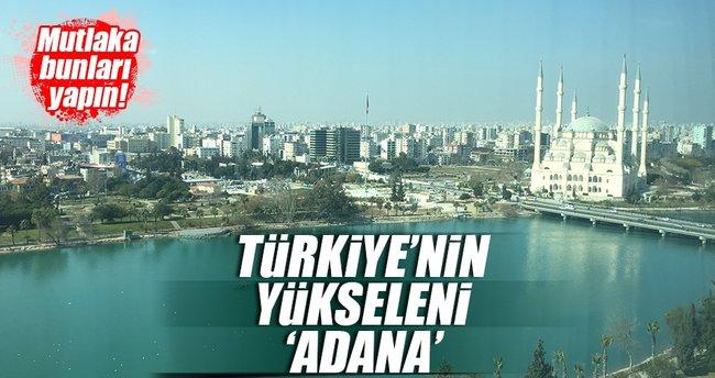 Türkiye'nin yükselen değeri 'Adana'