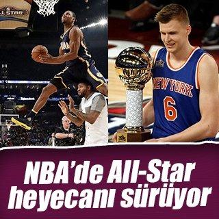 NBA'de All Star heyecanı devam ediyor