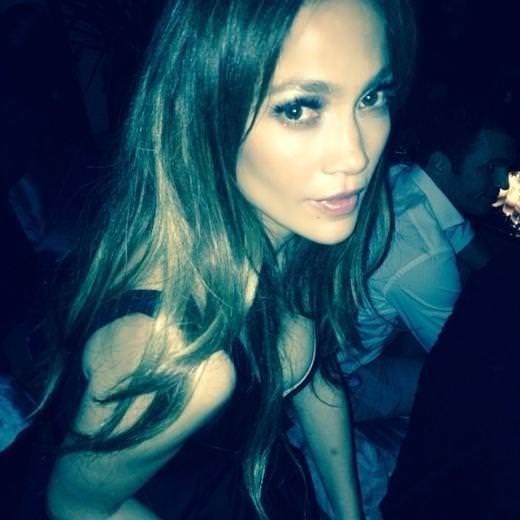 Jennifer Lopez'i öpen şanslı Türk