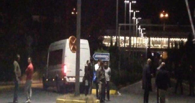 Atatürk Havalimanı'nda trafik kazası meydana geldi: 2 yaralı