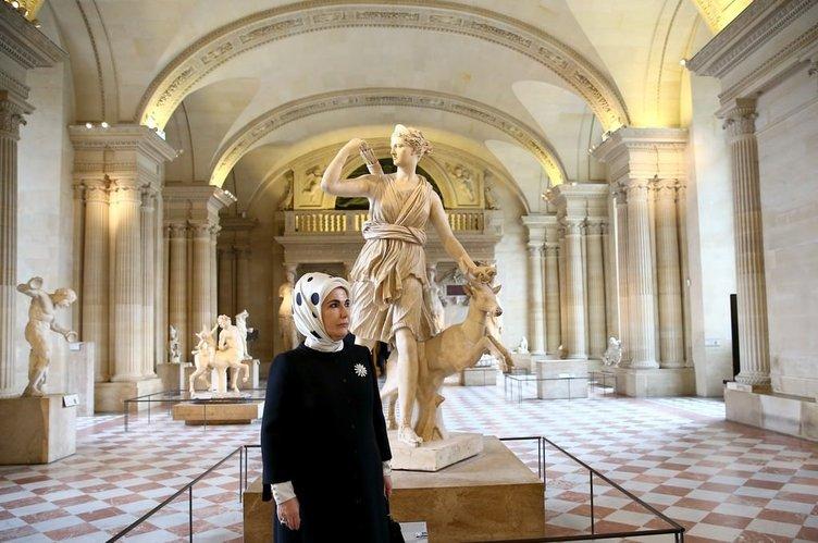 Emine Erdoğan Fransa'da