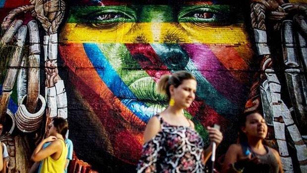 Eduardo Kobra'dan büyüleyen eser