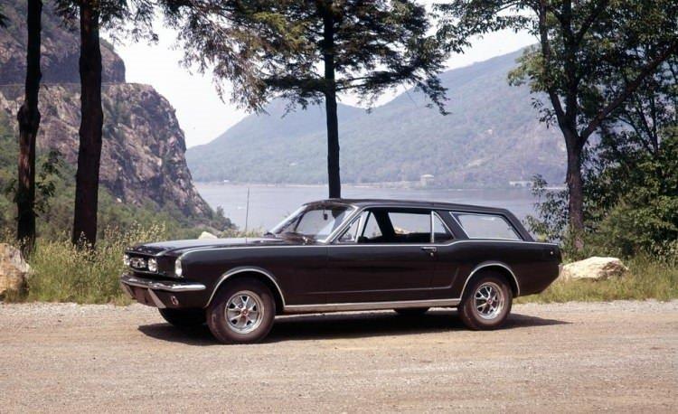 Mustang'ın station kasasını daha önce gördünüz mü?