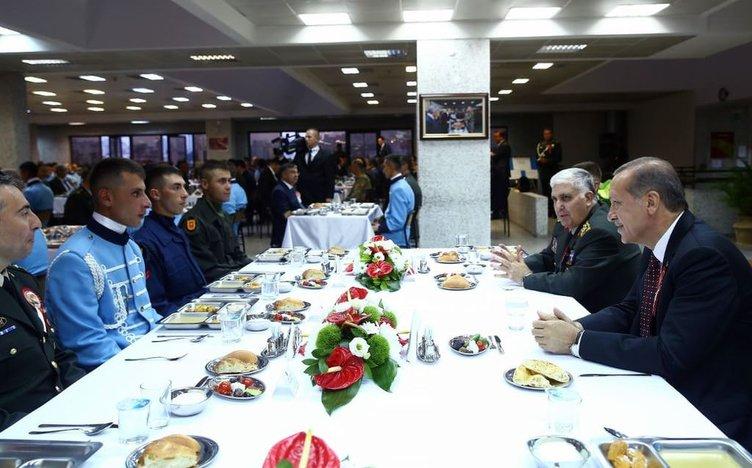 Cumhurbaşkanlığı Muhafız Alayı iftar programı