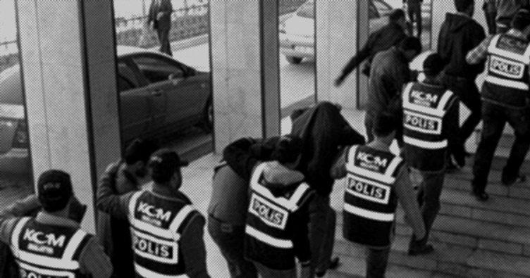 Zehir tacirlerine baskın: 6 tutuklama