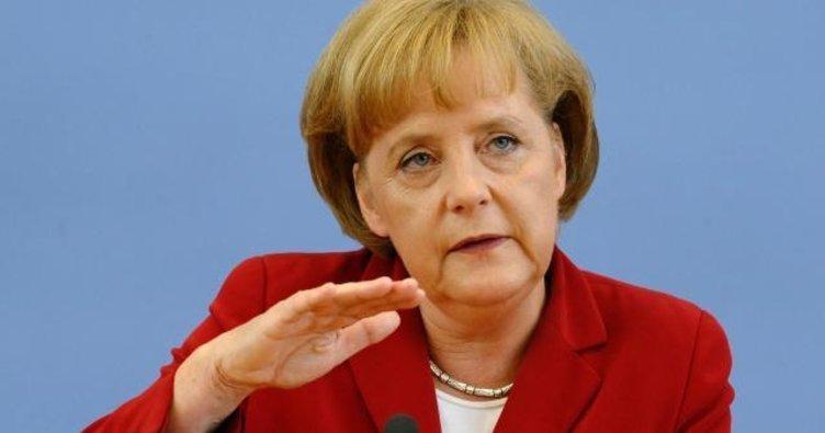 Merkel Kral Selman ile görüştü