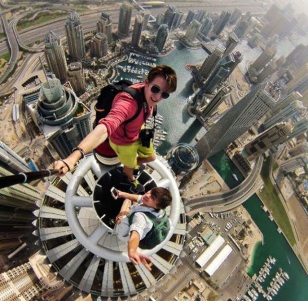 En çılgın selfie çekimleri
