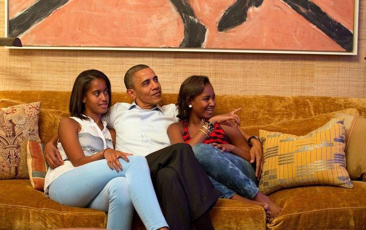 Obama Beyaz Saray'ın mahremini açtı