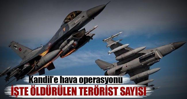 29 PKK'lı öldürüldü 16'sı yaralandı