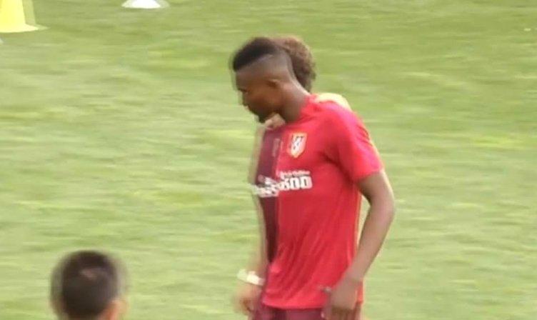Genç oyuncu Simeone'nin idmanına dayanamadı