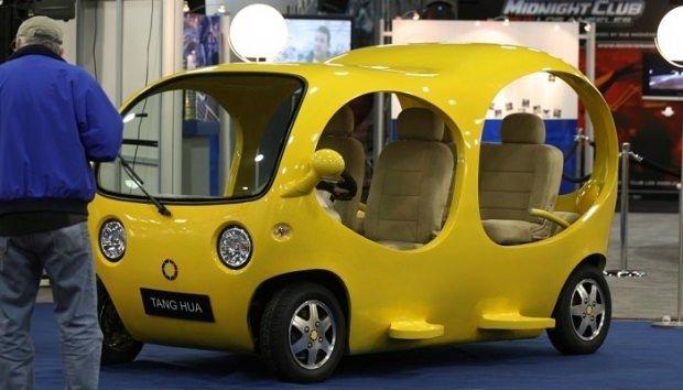 Dünyanın en ilginç otomobilleri