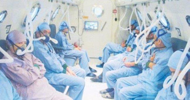 Günde 122 hasta tedavi oluyor
