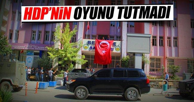 HDP'nin oyunu tutmadı halk kayyumdan memnun