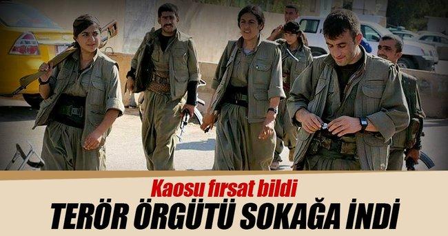 KERKÜK'TE PKK PROVOKASYONU
